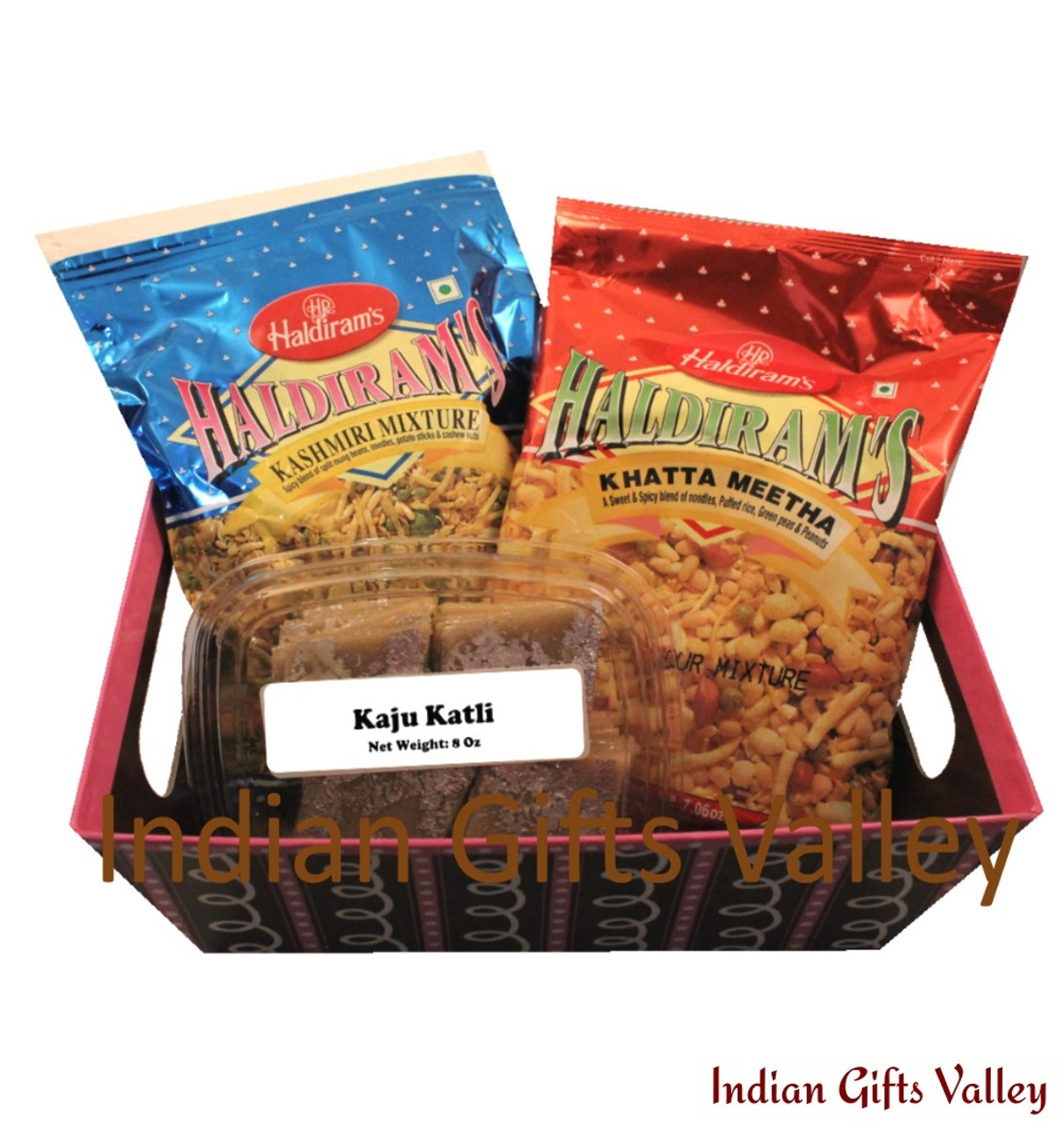 Diwali bhaidooj gift hamper 4 diwali diyas with haldiram soan gift hamper kaju katli haldiram namkeens in a beautiful basket negle Gallery