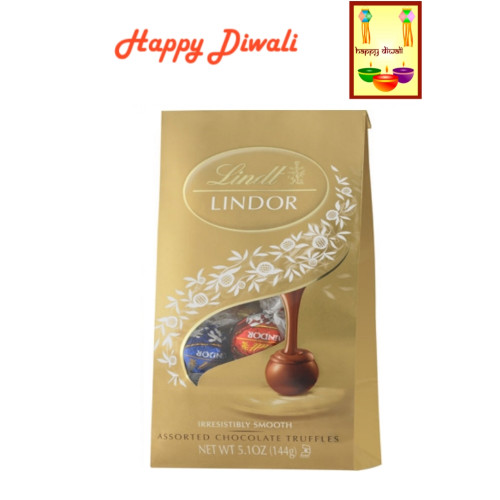 Diwali  Chocolates- Lindt Assorted Chocolates with Diwali Card