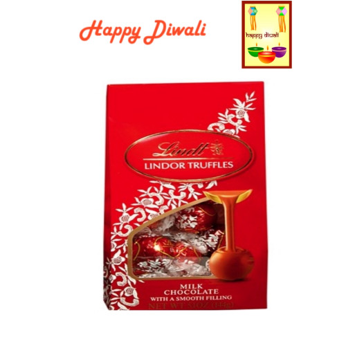 Diwali  Chocolates- Lindt Lindor Truffles with Diwali Greeting Card