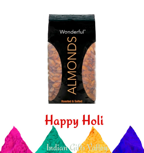 Holi Dryfruit - Wonderful Almonds with Assorted Holi Colors