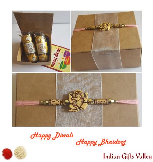 Diwali / Bhaidooj Gift - 6 pc Ferrero Rocher in a Beautiful Gift Box