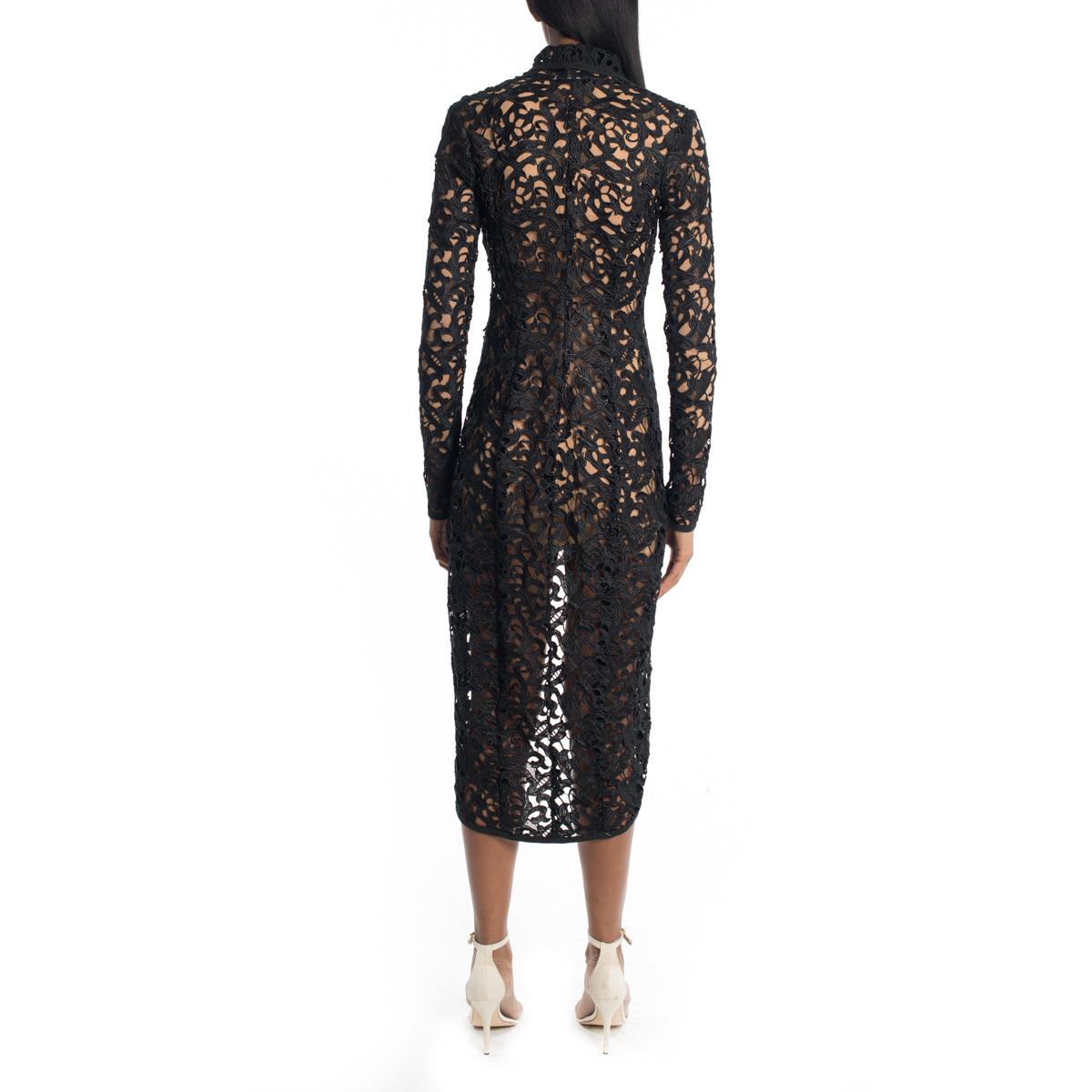 La Femme Lace Wrap Coat