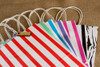 Gift or Shopping Bag - Large Size - Heavy Weight Paper - Seven Styles