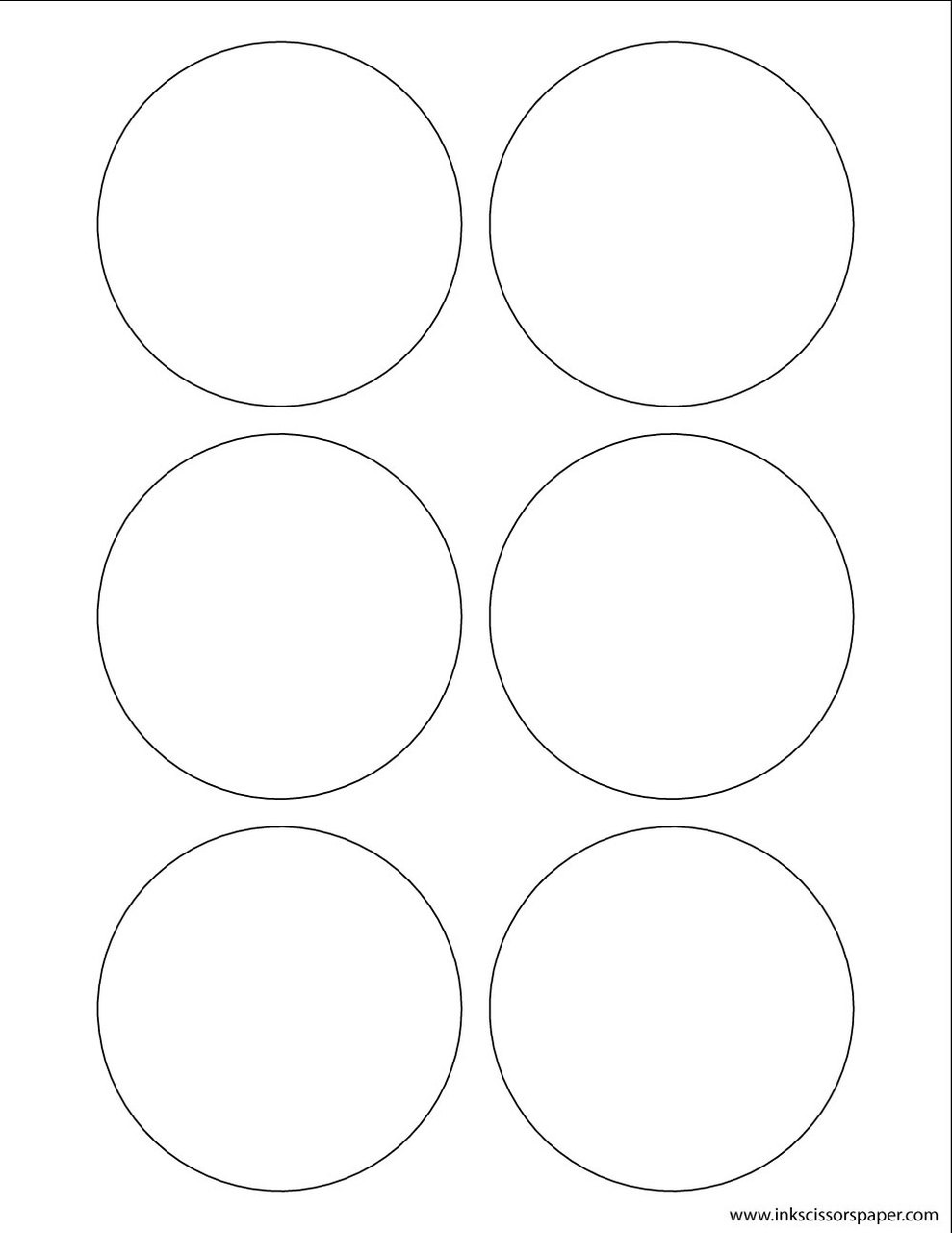 Template 3 1 4 inch round labels inkscissorspaper for 3 4 round label template