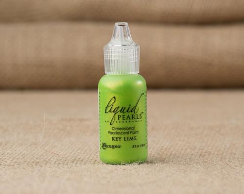 Tim Holtz Ranger Liquid Pearl Paints - Key Lime