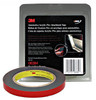 "3M 6384 1/2"" x 5 yard roll Double Sided Tape Black"