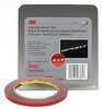 """3M 6385 Double Sided Tape 1/4"""" x 5 yard Roll Grey"""