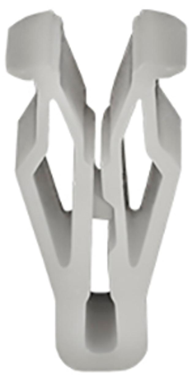Trim Panel & Dash Console Clip White Nylon Overall Length: 21mm Hyundai Elantra, Entourage, Sonata & Volster 2006 - On Kia Forte, Sorrento & Soul 2010 - On OEM# 84747-2L000 50 Per Box