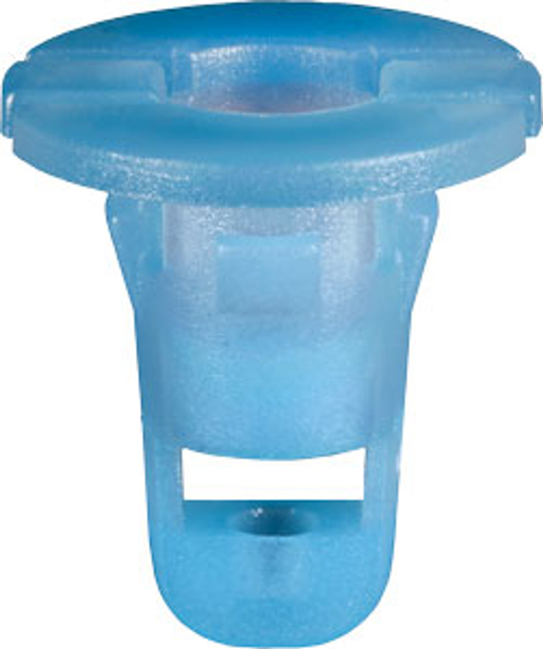 Rocker & Door Trim Panel Grommet Head Diameter: 15mm Stem Diameter: 8mm Light Blue Nylon Stem Length: 15mm Infiniti Q60 Coupe Nissan 350Z & Versa 2014 - 2006 Nissan OEM# 76848-ED000 25 Per Box