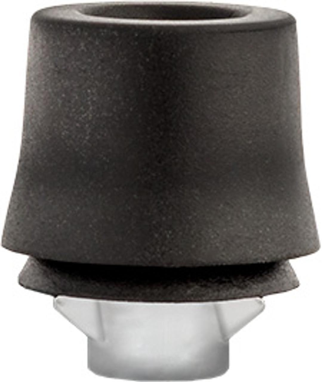 Front Door Rubber Bumper Rubber Diameter at Top: 15mm Rubber Diameter at Bottom: 17mm Rubber & Nylon Overall Height: 19.5mm Toyota 4Runner, Corolla, Highlander, Land Cruiser, Matrix, RAV4 & Tercel 1999 - On Toyota OEM# 90541-09069 25 Per Box