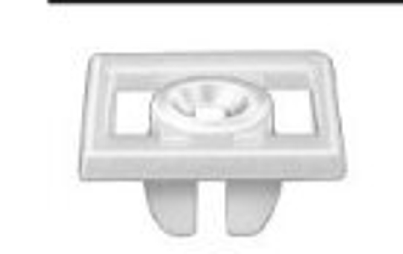 #14 Screw Size License Plate Nuts Nylon Ford OEM# 380707-S 50 Per Box