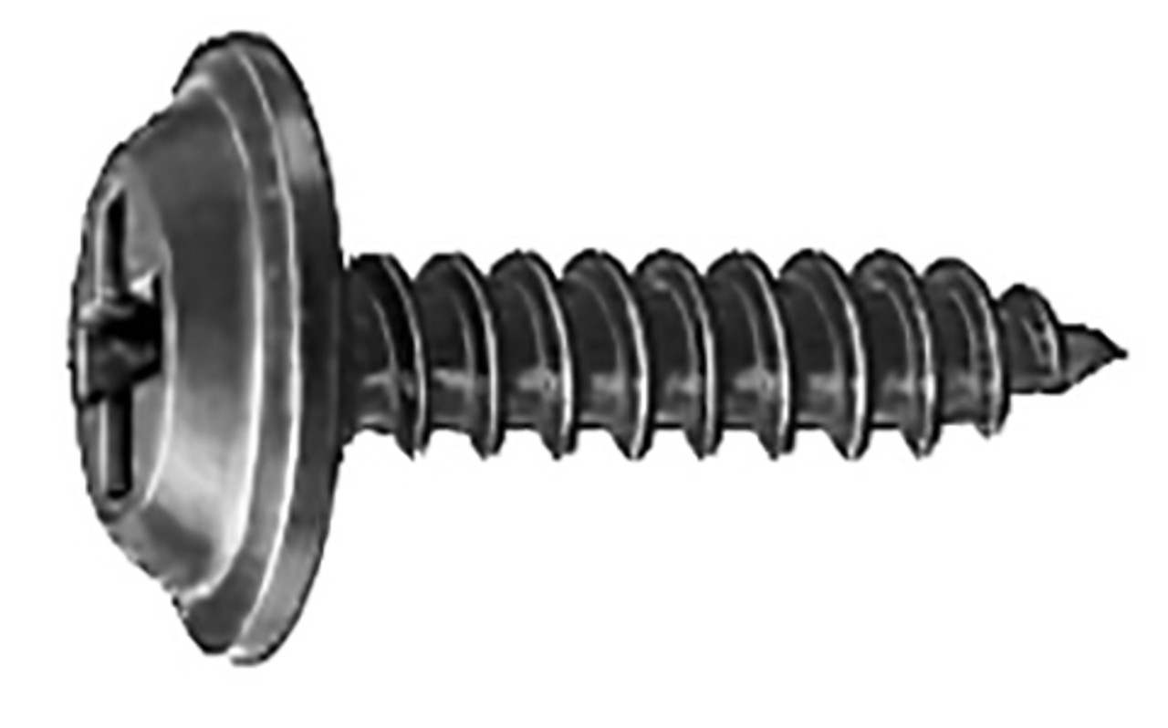 "#8 x 5/8"" 31/64"" O.D. Washer Head OEM# 56911-S2, 56929-S2 Phosphate 100 Per Box Click Next Image For Screw Detail"