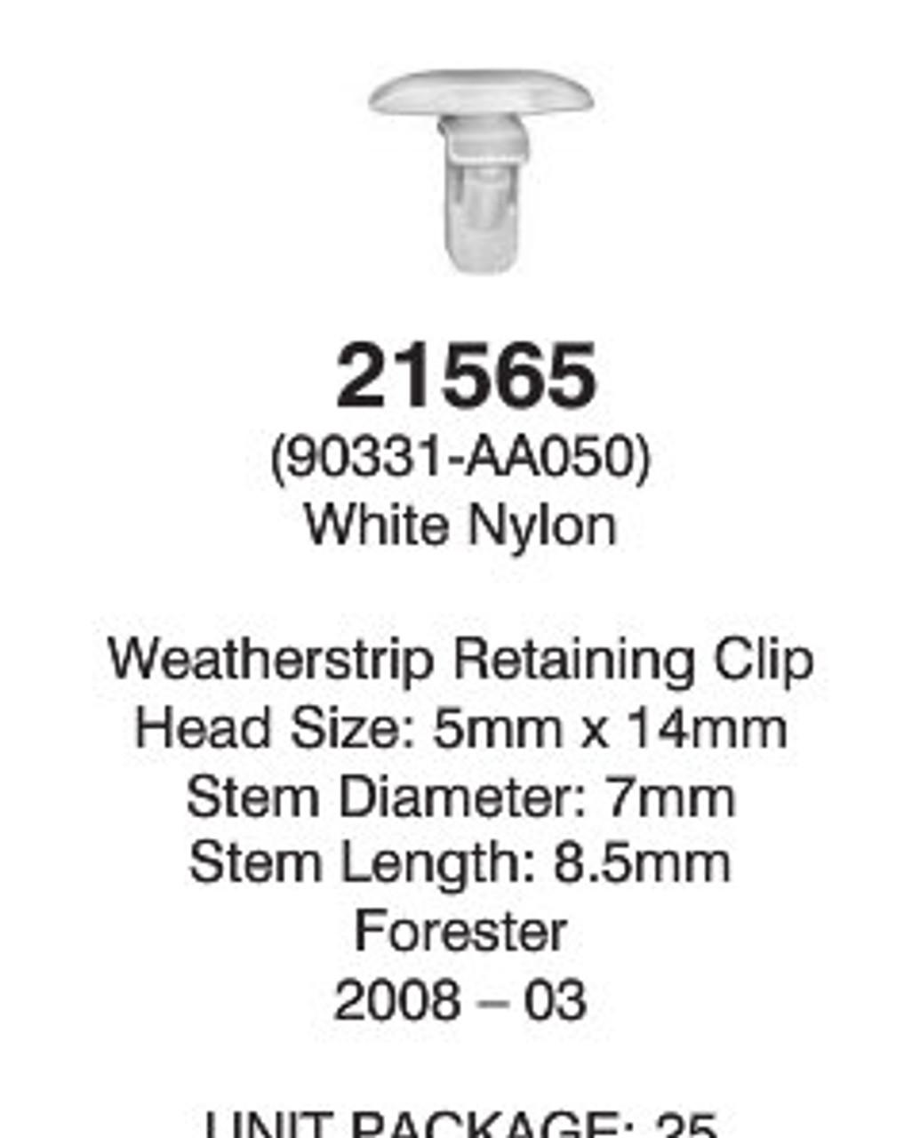 Auveco 21565 Detail