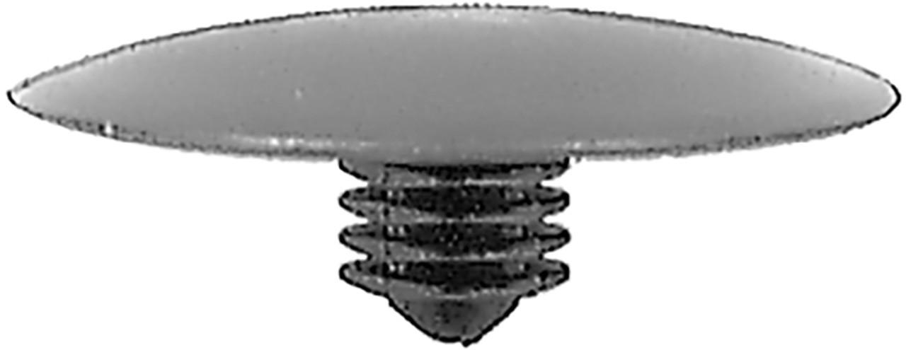 Hood Insulation Retainer Honda Prelude 1985 -On Head Diameter: 30mm Stem Length: 9mm OEM# 90700-SB2-003 Black Nylon 15 Per Box Click Next Image For Clip Detail