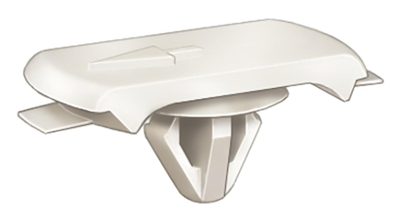 Moulding Clip Length: 14mm Width: 28mm OEM# 75395-14020-A Nylon 25 Per Box Click Next Image For Clip Detail