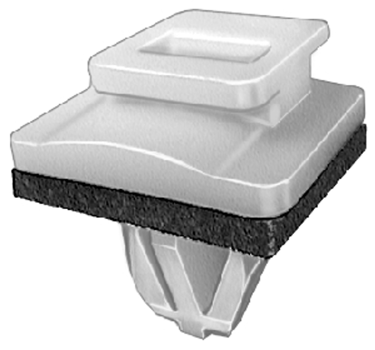Side Sill Garnish Moulding Clip Acura Legend Coupe 1991-On OEM# 91501-SP1-003 Nylon 10 Per Box Click Next Image For Clip Detail