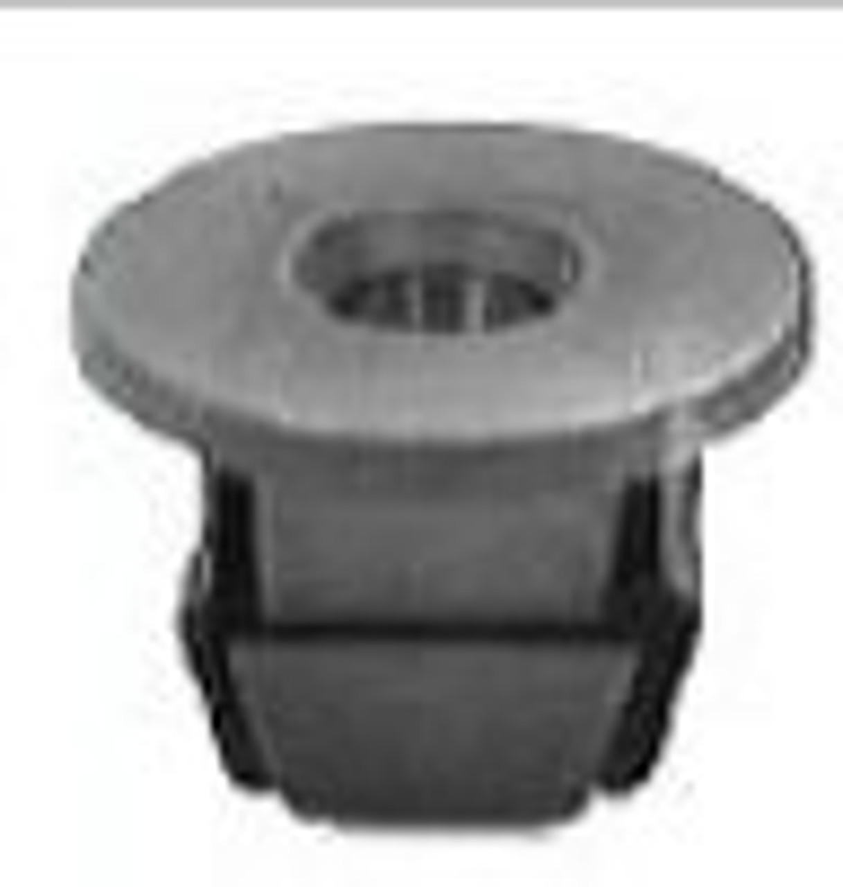 Tail Light Nut Use #8 Screw GM Astro & Safari 1985-On Volkswagon GM OEM#: 3997391 VW OEM#: 179-813-881 Black Nylon 25 Per Box Click Next Image For Clip Detail