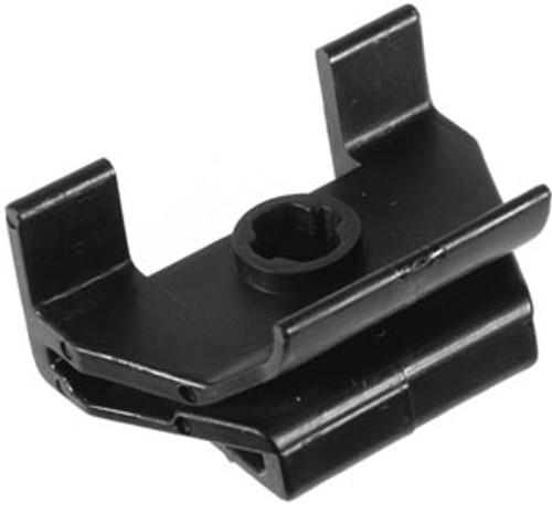 Bumper Cover Clip Width: 35mm Length: 25mm Use With Auveco 21357 Lexus GS, IS & LS 2007 - On OEM# 53879-50020 Black Nylon 10 Per Box