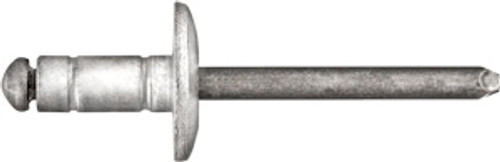 "Rivet Diameter: 1/4"" Flange Diameter: 3/4"" Grip Range: 0.080"" - 0.375"" Aluminum Rivet, Steel Mandrel Dodge Nitro & Jeep Liberty 2011 - 2007 (Chrysler: 6036679AA)"