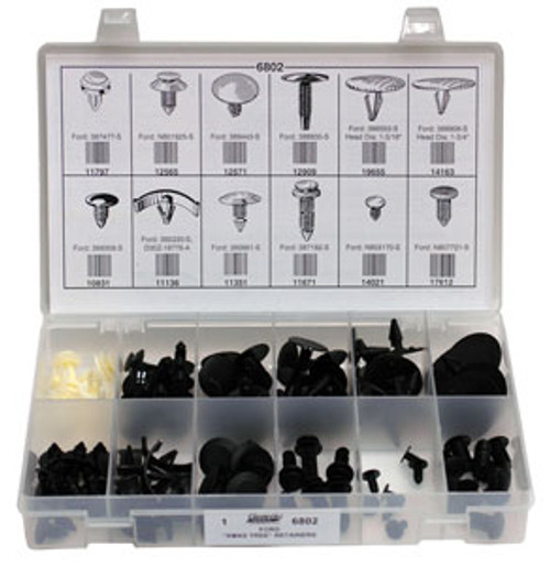 Ford Xmas Tree Retainer Quik-Select Asst. 112 Pieces