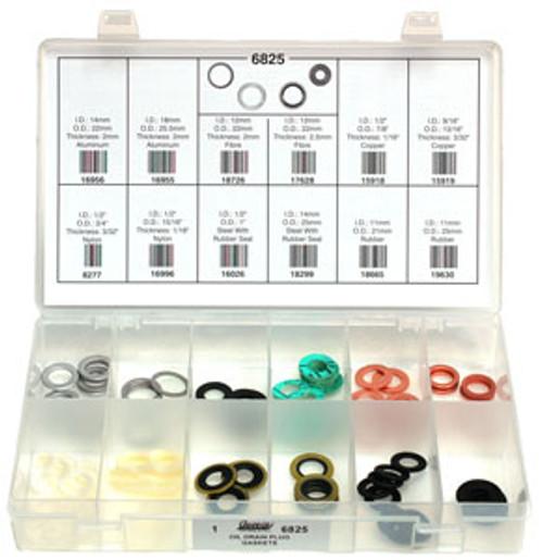 Oil Drain Plug Gaskets; Quick-Select Assortment Kit 84 Pieces