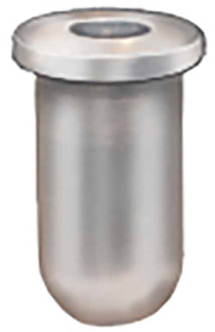 """For 1/8"""" Stud Fits In 11/64"""" Hole Barrel Length: 11/32"""" Head Diameter: 15/64"""" Head Thickness: 1/32"""" Natural Nylon 50 Per Box"""