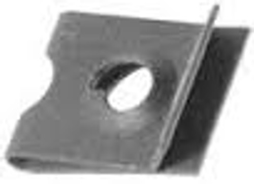 "U Nuts Screw Size: #8 Panel Range: .025""-.040"" Center Of Hole To Edge: 1/4"" 100 Per Box"