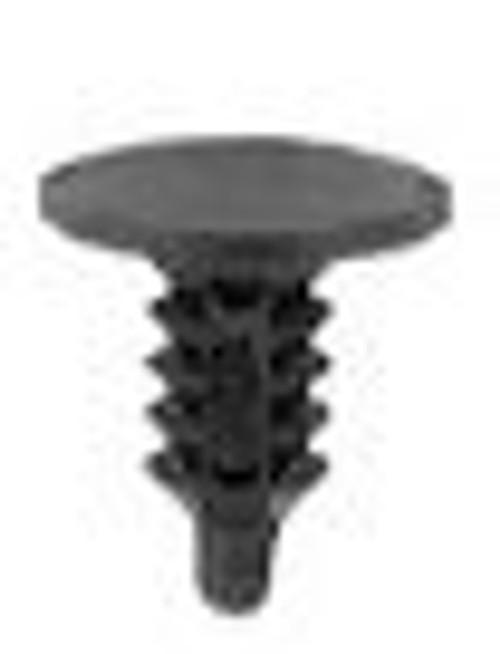 "Head Diameter: 3/8"" Stem Diameter 5/32"" Stem Length.: 3/8"" Chevrolet 1995-On Trim Panel Retainers OEM# 10262036 Black Nylon 100 Per Box Click Next Image For Clip Detail"