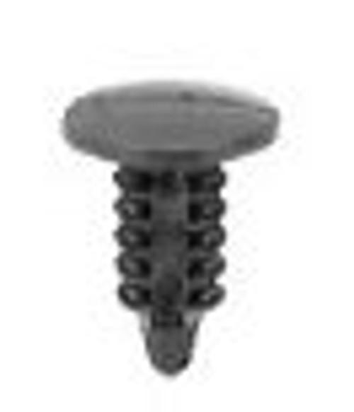 "Head Diameter: 23/64"" Stem Diameter:3/16"" Stem Length: 7/16"" Gm 1991 - On Door Lock Retainers OEM# 10063599 Black Nylon 100 Per Box Click Next Image For Clip Detail"