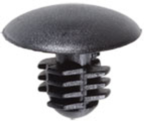 Head Diameter: 14mm Stem Diameter: 7mm Stem Length: 9mm Ford 1985 - On OEM# N803857S Replaces Auveco 15483 Nylon 50 Per Box Click Next Image For Clip Detail