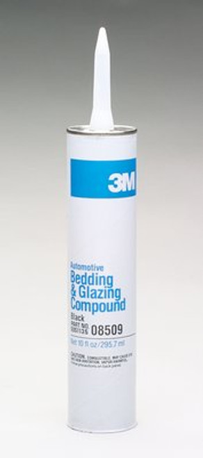 Black Automotive Bedding and Glazing Compound 3M 8509