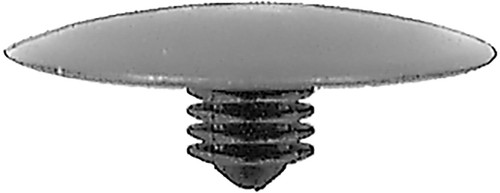 Hood Insulation Retainer Honda Prelude 1985 -On Head Diameter: 30mm Stem Length: 9mm OEM# 90700-SB2-003 Black Nylon 15 Per Box Click Next Image For Clip Detail