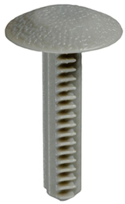 "Door Trim Panel Retainer Head Diameter: 3/4"" Stem Diameter: 5/16"" Stem Length: 1-1/4"" Chevy Astro & GMC Safari Mini-Vans 1994-On OEM# 15986343 Gray Nylon 25 Per Box Click Next Image For Clip Detail"