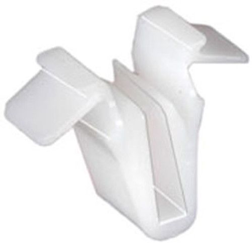 """Door & Garnish Moulding Clip Overall Height: 12.4mm (1/2"""") Toyota Tundra 2007-On OEM# 67771-58010 White Nylon 25 Per Box Click Next Image For Clip Detail"""