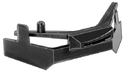Windshield Corner Moulding Clips Acura Integra 1990 - 93 OEM# 90621-SK7-003 White Nylon 5 Per Box Click Next Image For Clip Detail