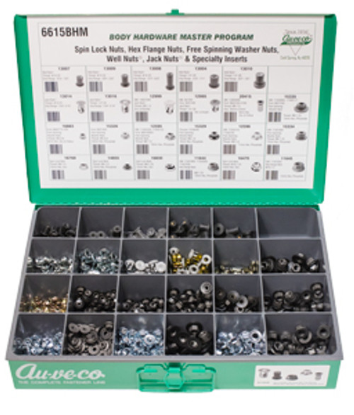 Spin Lock Nuts, Hex Flange Nuts, Free Spinning Washer Nuts, Jack Nuts® & Well Nuts®