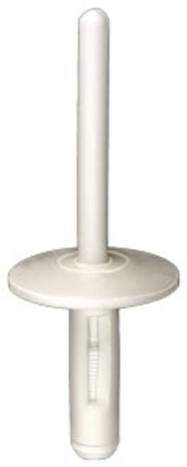 Nylon Rivet Diameter: 6mm Grip Range: 1.5mm - 10mm Flange Diameter: 20mm White Nylon BMW X5 2013 - On OEM# 07147391324 25 Per Box NOTE: MUST USE #13756 OR #14155 TO INSTALL NYLON RIVETS