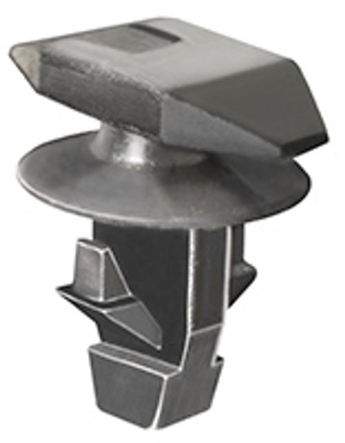 Roof Rail & Side Sill Weatherstrip Retainer Black Nylon Top Head Size: 5mm x 11mm Bottom Head Diameter: 8mm Stem Diameter: 6mm Stem Length: 7mm Acura Legend, MDX, RDX, RL, TL & ZDX 1998 - On Honda Accord, Civic, CRV, Element & Odyssey 2001 - On OEM# 91530-S0A-003 25 Per Box