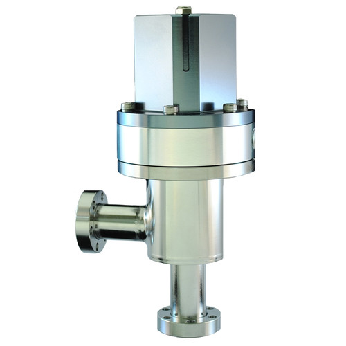 Pneumatic Angle Valve - CF Flange