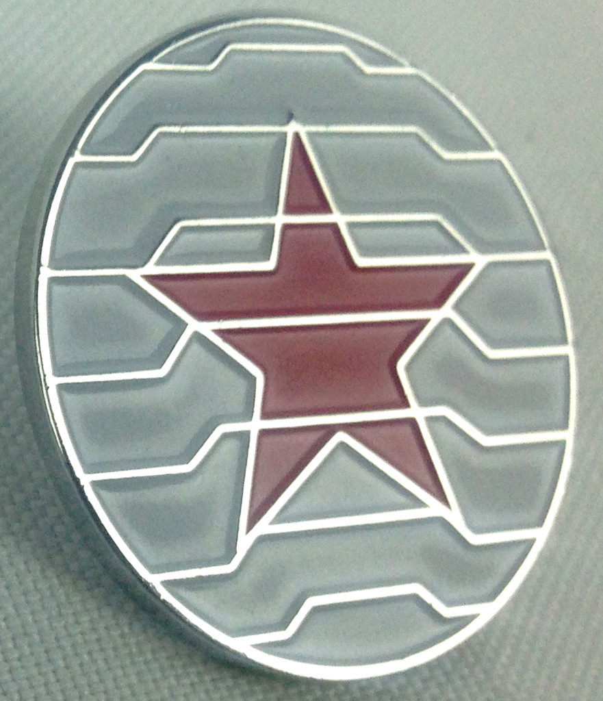 Bucky Barnes Winter Soldier Enamel Pin