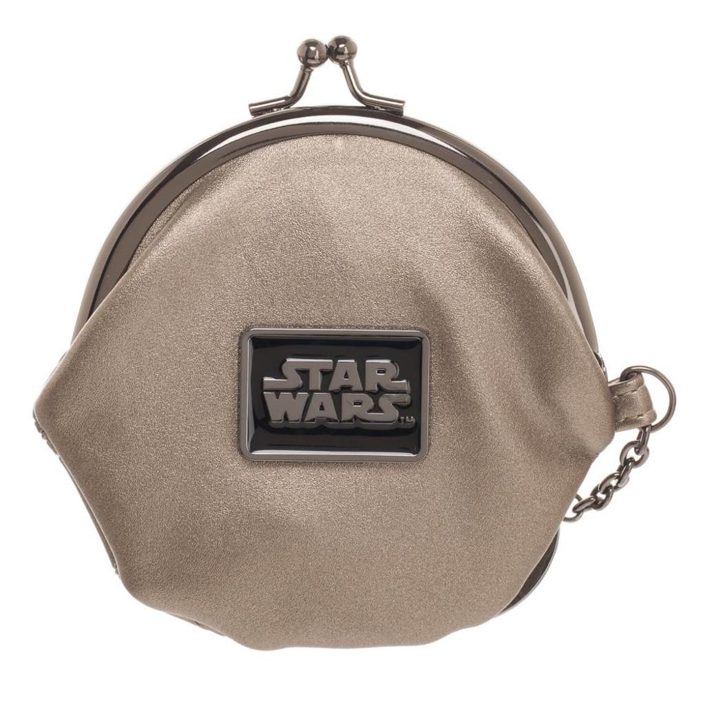 Death Star Kiss Lock Coin Pouch