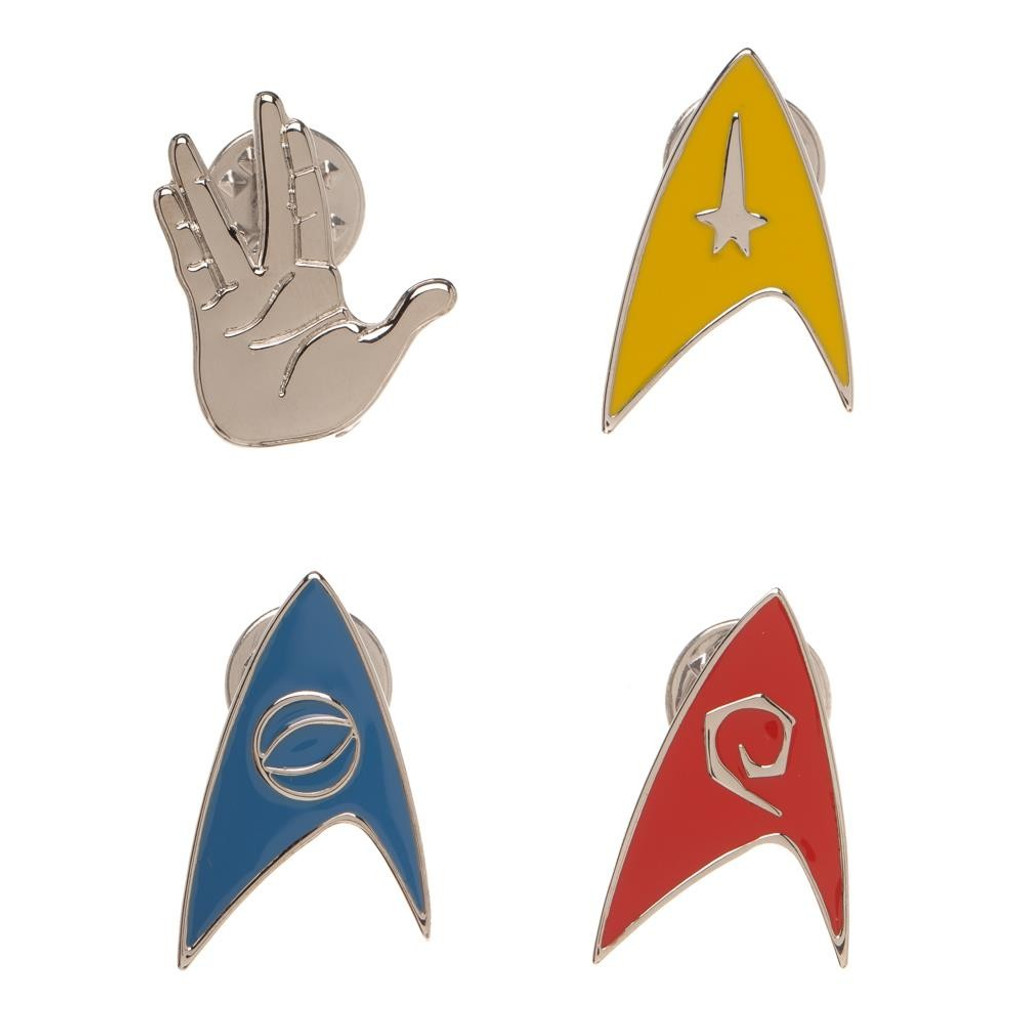 Star Trek Original Series Enamel Pin Set