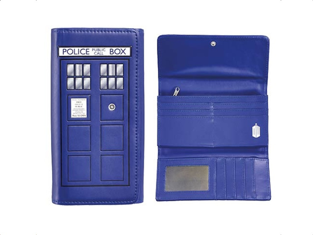 Doctor Who TARDIS Figural Wallet