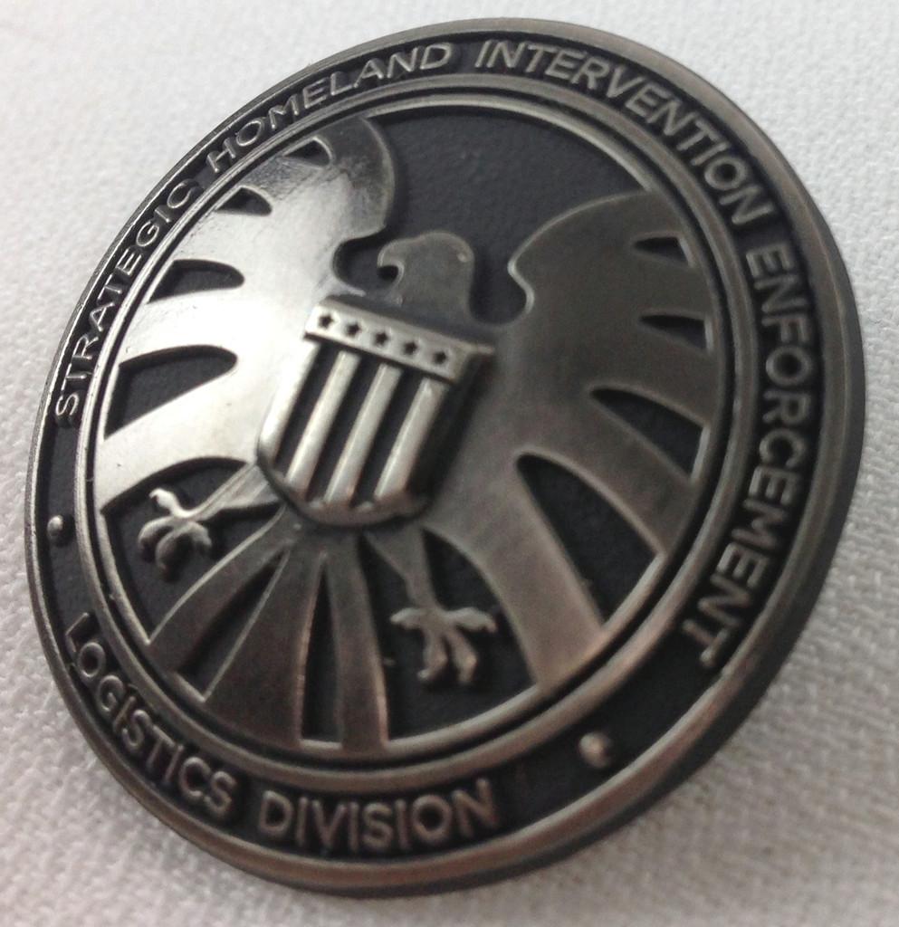 Agents of Shield Agency Logo Metal Pin
