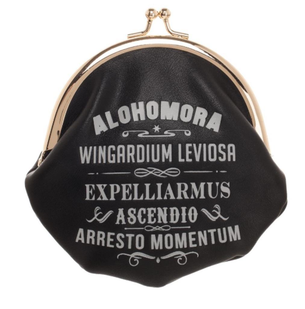 Harry Potter Wizarding Spells Coin Pouch
