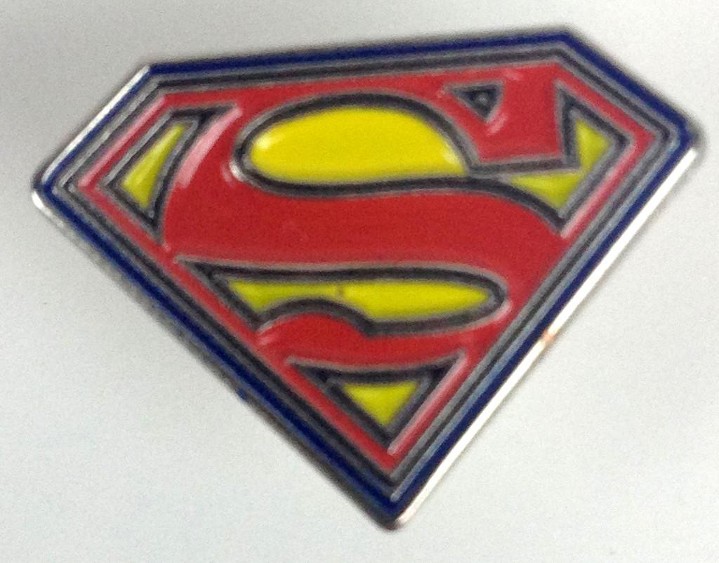 Superman Logo Enamel Pin