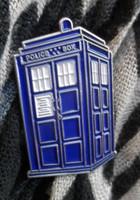 TARDIS Large Enamel Pin
