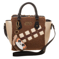 Star Wars Chewie and Porg Mini Brief Handbag