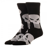Marvel Punisher All-Over Print Crew Socks