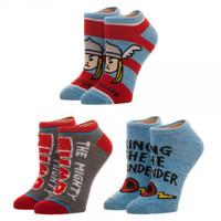 Marvel Thor 3-Pack Ankle Socks